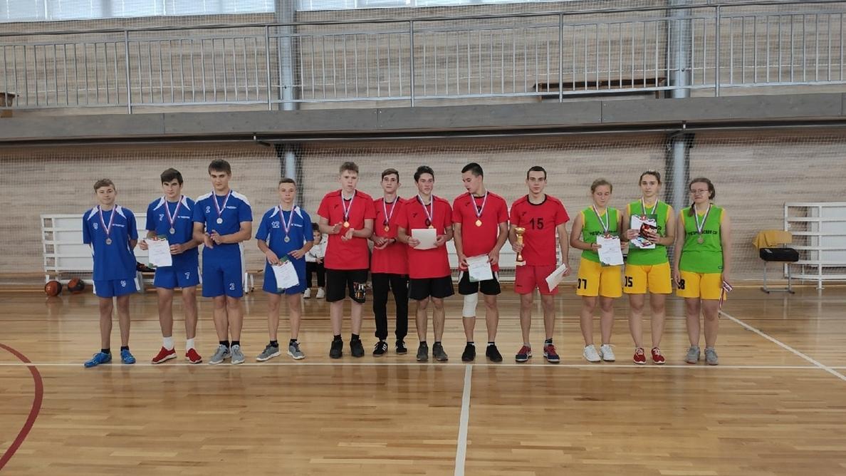Турнир по баскетболу среди команд школ Гусь-Хрустального района